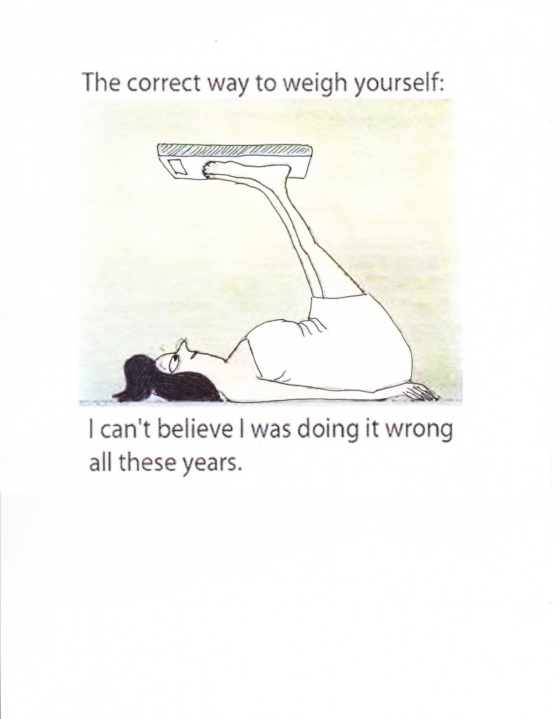 Cartoon- how to weigh yourself correctly_0001