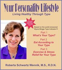 Your Personality Lifestyle by Roberta Schwartz Wennik MS RDN